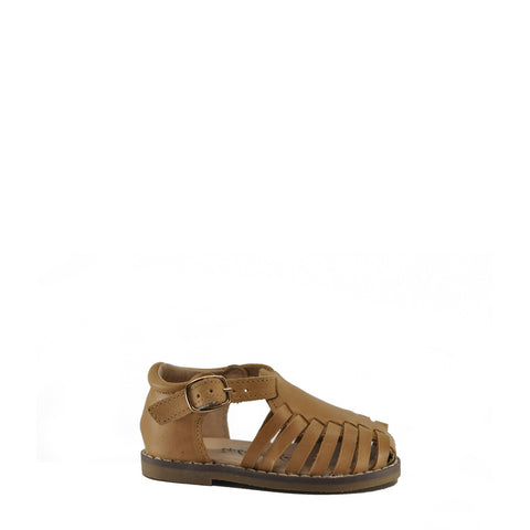 Anchor & Fox Caramel Amalfi Sandal-Tassel Children Shoes