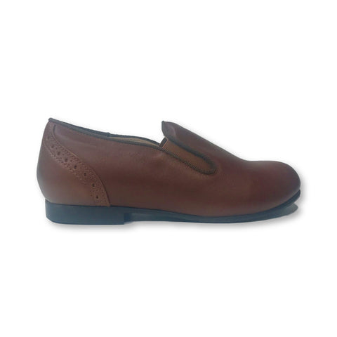 Beberlis Luggage Wingback Slip-on Shoe