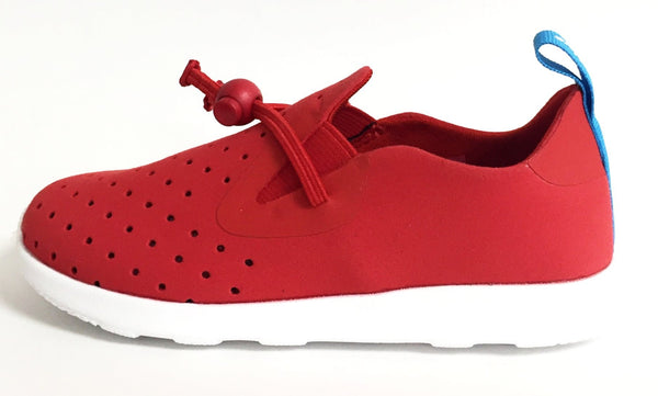 Native Shoes Apollo Moc Torch Red (Child)-Tassel Children Shoes