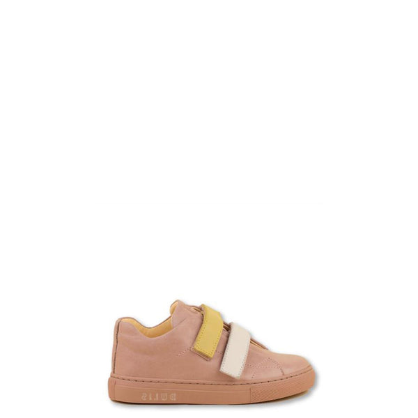 Dulis Pink Velcro Sneaker-Tassel Children Shoes