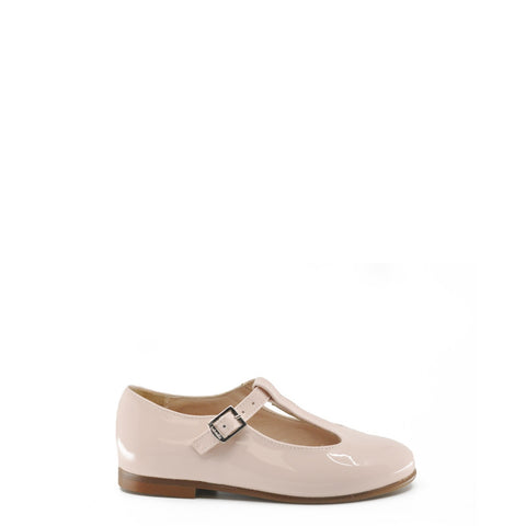 Beberlis Light Pink Patent T-Strap Mary Jane-Tassel Children Shoes
