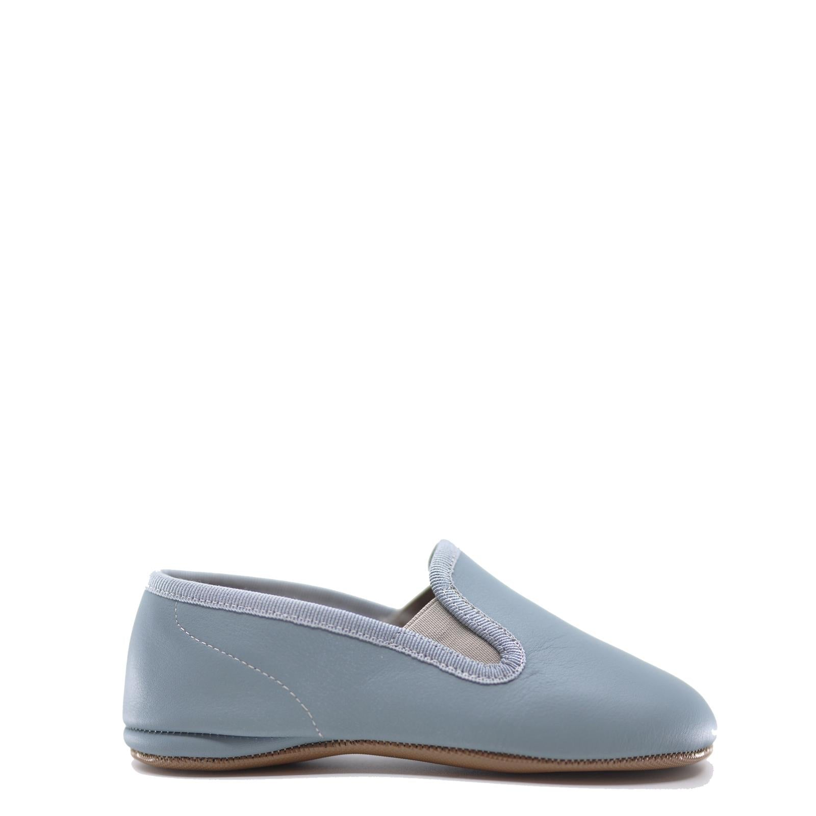 Pepe Sky Blue Slipper Loafer-Tassel Children Shoes
