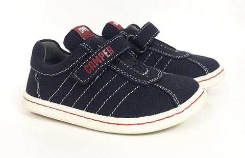 Campers Navy Little Boy Sneaker-Tassel Children Shoes
