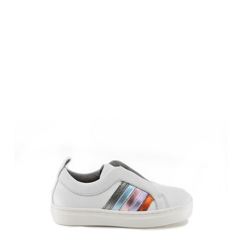 Blublonc Rainbow Elastic Sneaker-Tassel Children Shoes