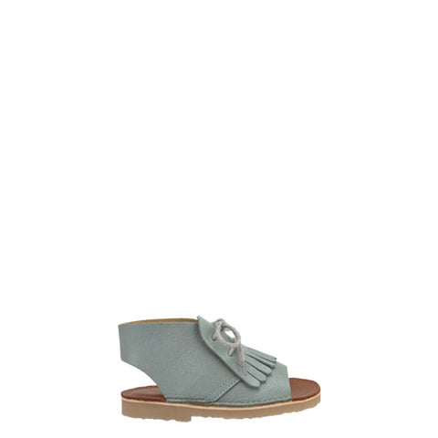 Young Soles Smokey Sage Fringe Sandal-Tassel Children Shoes