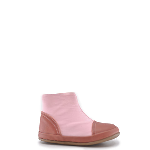 Pepe Rose Pink Elastic Bootie-Tassel Children Shoes