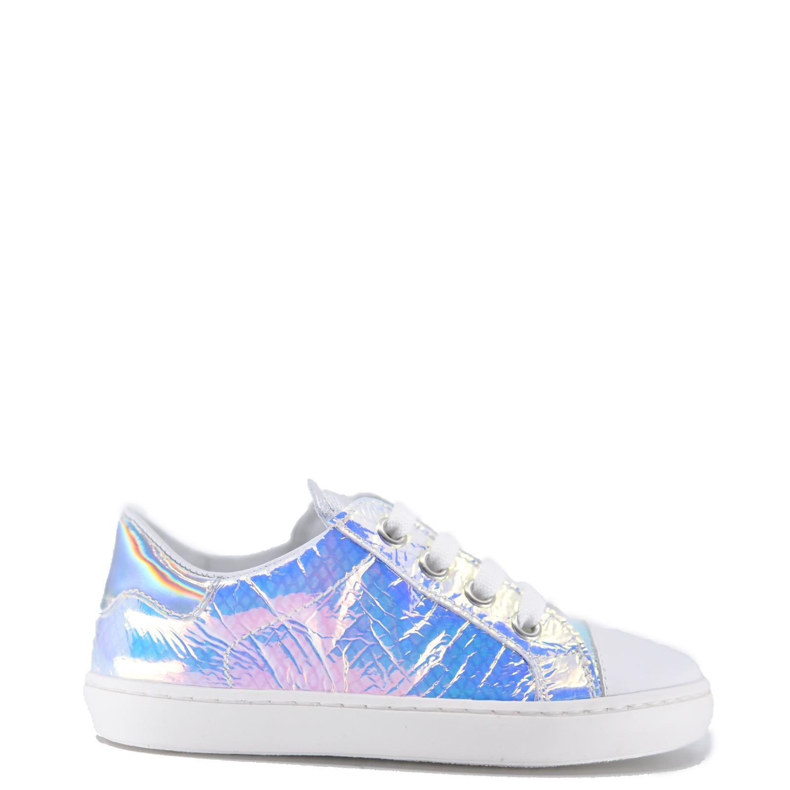 Beberlis Iridescent Sneaker-Tassel Children Shoes