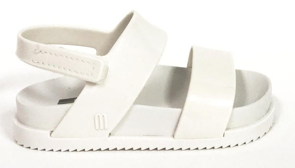 Mini Melissa White Cosmic Sandal-Tassel Children Shoes