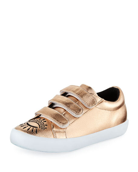 Kenzo Brass Cosmic Sneaker-Tassel Children Shoes