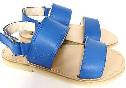 Manuela Sky Blue Sandal-Tassel Children Shoes