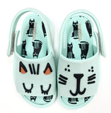 Mini Melissa Mint Green Kitten Sandal-Tassel Children Shoes