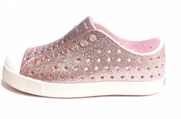 Native Shoes Jefferson Bling Pink-Tassel Children Shoes