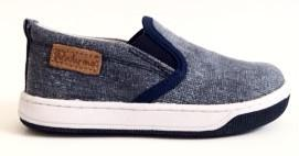Naturino Blue Jean Slip On Sneaker-Tassel Children Shoes