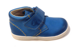 Naturino Blue Velcro Bootie-Tassel Children Shoes