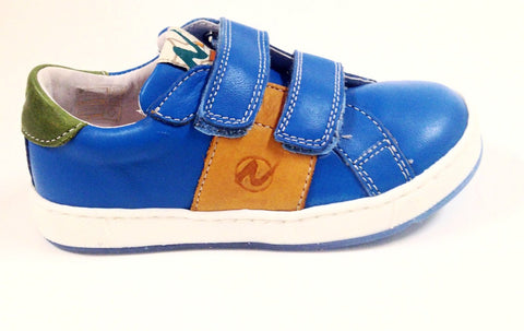 Naturino Cobalt Double Velcro Sneaker-Tassel Children Shoes