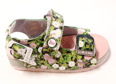Naturino Floral Sandal-Tassel Children Shoes