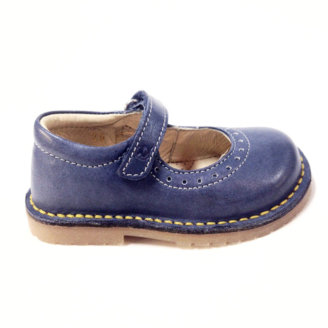 Naturino Navy Mary Jane-Tassel Children Shoes