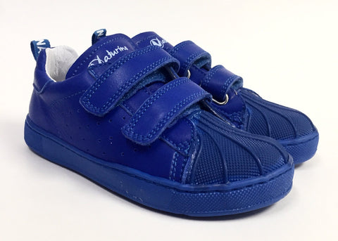Naturino Rich Blue Double Velcro Sneaker-Tassel Children Shoes