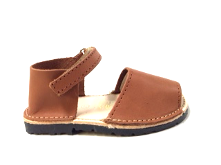 Nens Caramel Sandal-Tassel Children Shoes