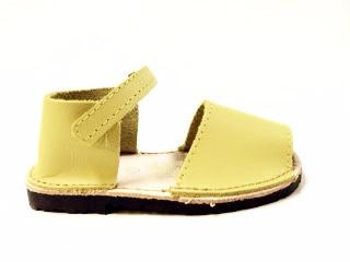 Nens Yellow Sandal-Tassel Children Shoes