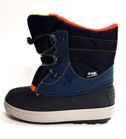 Pajar Navy Beam Kid Boot-Tassel Children Shoes
