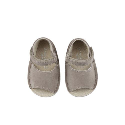 Shoes Le Petit Taupe Velcro Pre-walker Sandal-Tassel Children Shoes