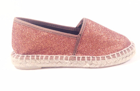 Sonatina Bronze Glitter Espadrille-Tassel Children Shoes