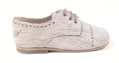 Sonatina Taupe Boys Oxford-Tassel Children Shoes
