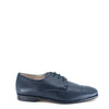 Hoo Navy Pebbled Leather Lace Dress Shoe-Tassel Children Shoes