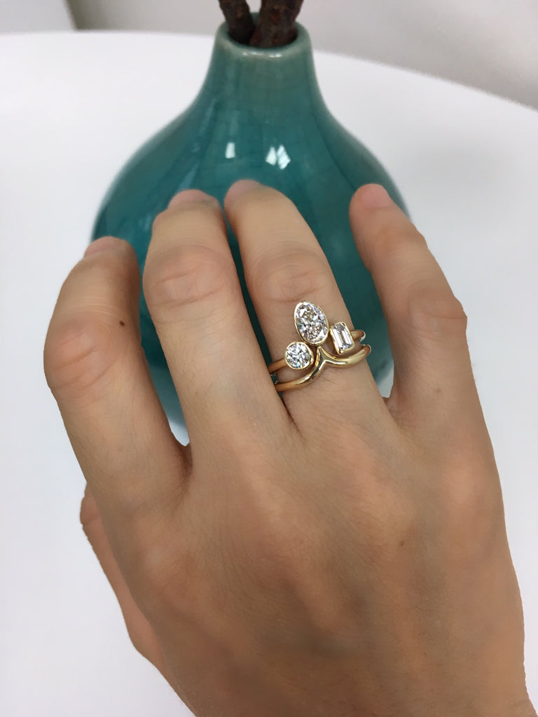 Island stacking ring set