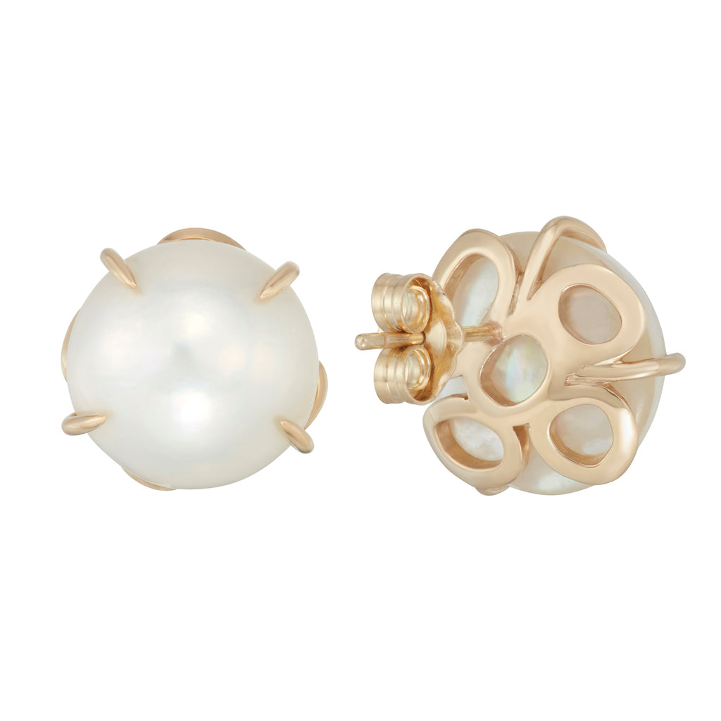 Petal Pearl Earrings