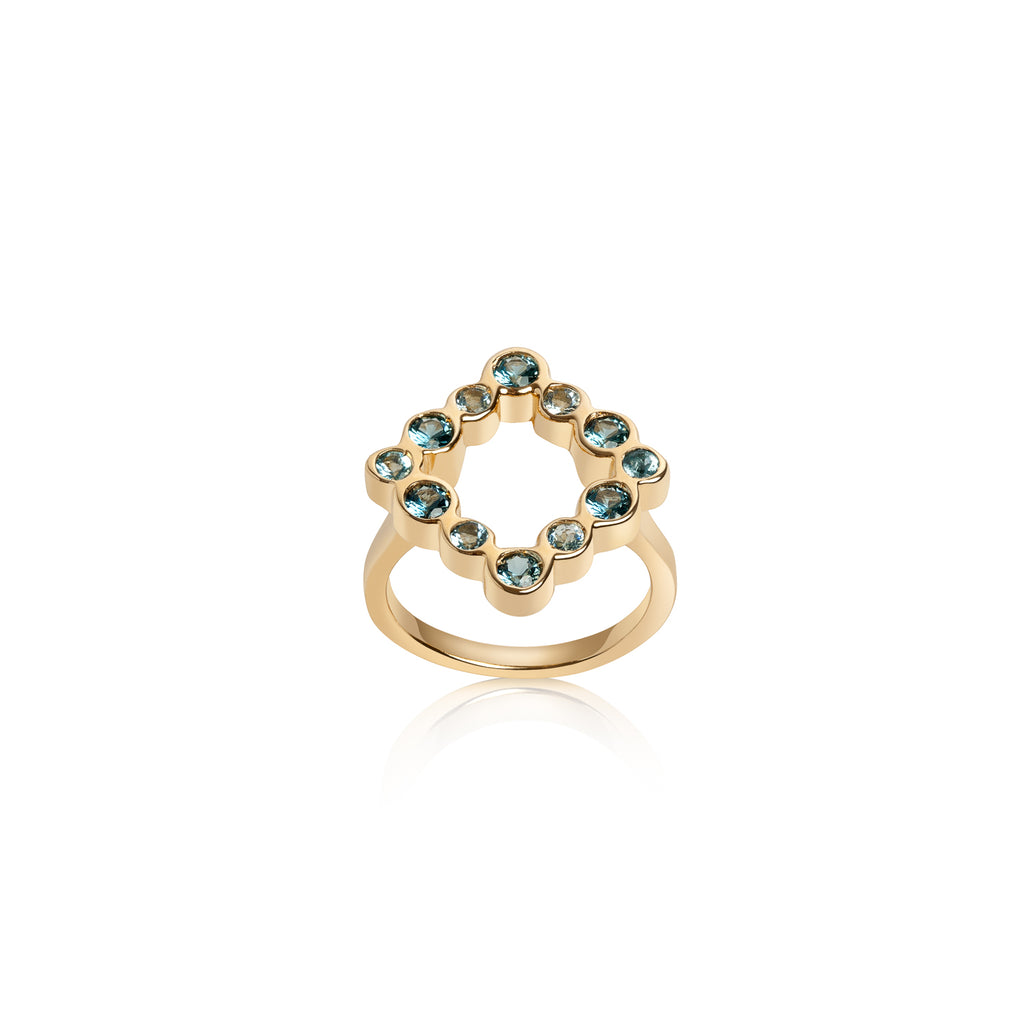 Kite Shape Ring