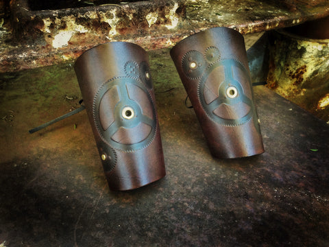 Gear Head bracer (pair)