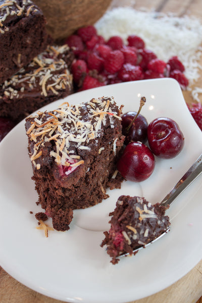 Chocolate Raspberry Brownie