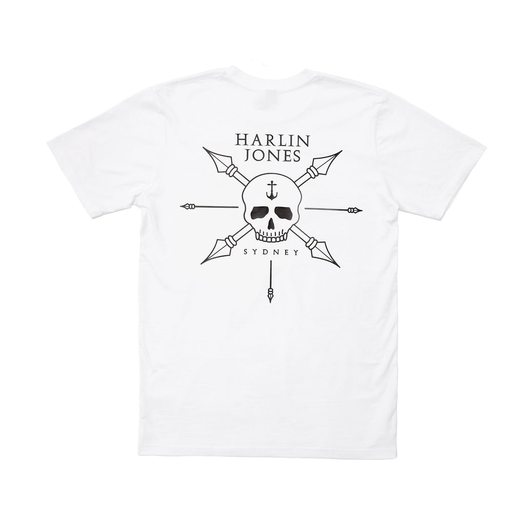 Harlin Jones T-Shirt - White