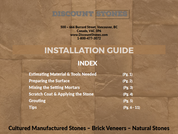 Stone siding installation guide