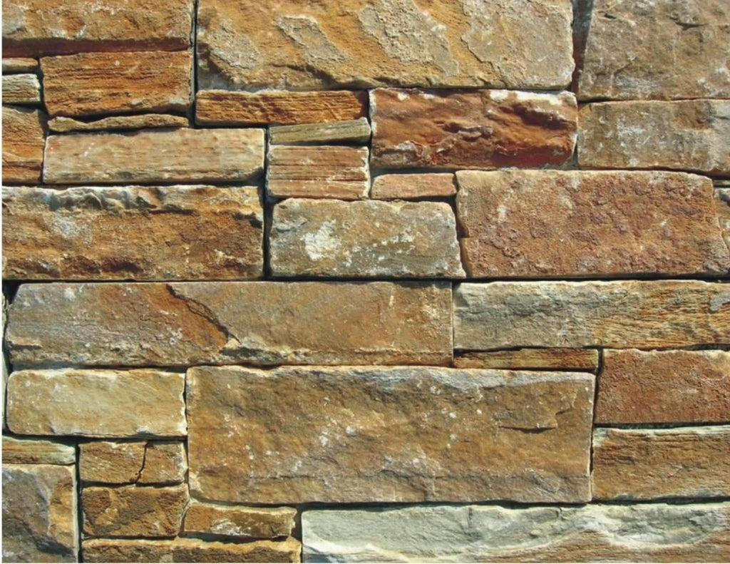 Golden Dawn - Rough Cut Slate cheap stone veneer clearance - Discount Stones wholesale stone veneer, cheap brick veneer, cultured stone for sale