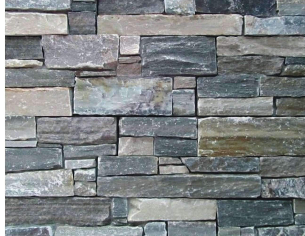 Brook Haven - Rough Cut Slate cheap stone veneer clearance - Discount Stones wholesale stone veneer, cheap brick veneer, cultured stone for sale