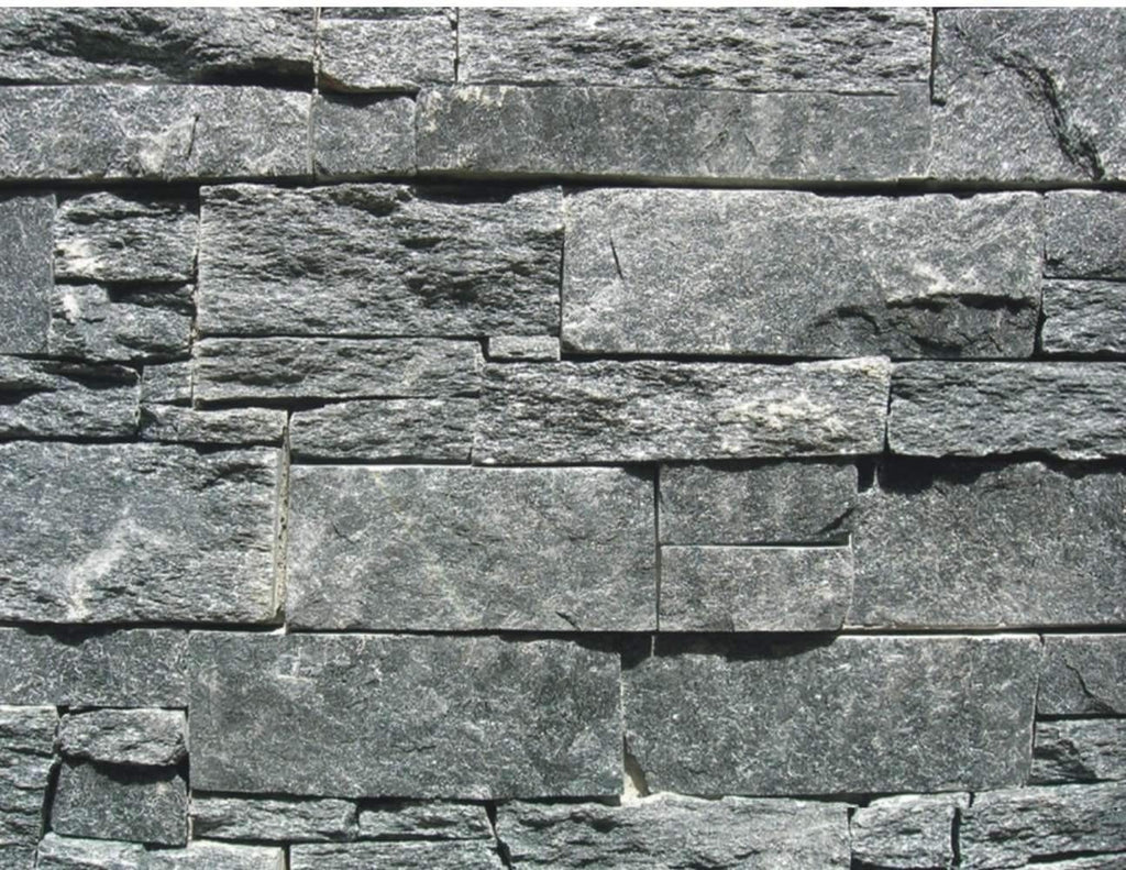 Forever Grey - Rough Cut Slate cheap stone veneer clearance - Discount Stones wholesale stone veneer, cheap brick veneer, cultured stone for sale