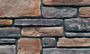 Black Wolf - Rustic Ledgestone cheap stone veneer clearance - Discount Stones wholesale stone veneer, cheap brick veneer, cultured stone for sale
