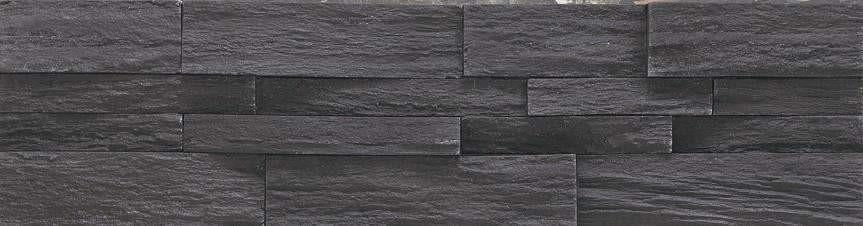 Jet Black - Stackstone cheap stone veneer clearance - Discount Stones wholesale stone veneer, cheap brick veneer, cultured stone for sale