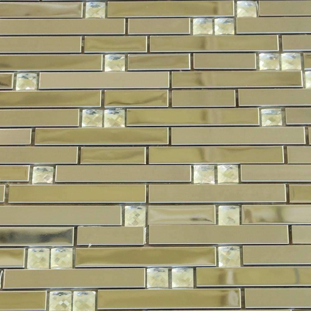 Silver Crescent - Glass + Steel Mix cheap stone veneer clearance - Discount Stones wholesale stone veneer, cheap brick veneer, cultured stone for sale