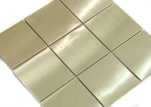New Silver Steel Tile Steel Discount Stones