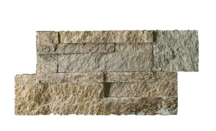 Rustic Golden Tiger Stone Panel Quartz Stone Panel Discount Stones