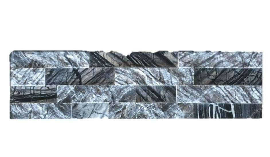 Black & White Marble - Stone Panel cheap stone veneer clearance - Discount Stones wholesale stone veneer, cheap brick veneer, cultured stone for sale