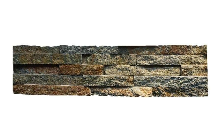Warm Mountainside Stone Panel Quartz Stone Panel Discount Stones