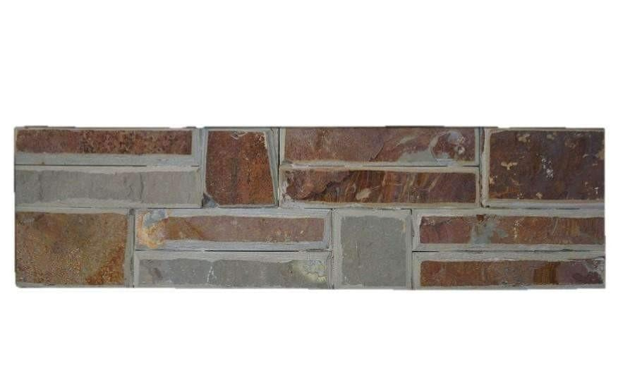 Urban Copper Stone Panel Slate Stone Panel Discount Stones