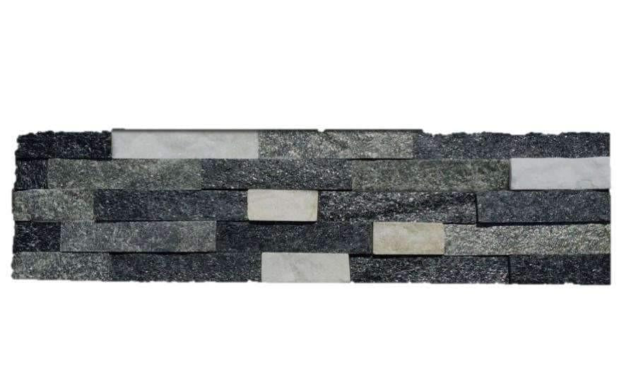 Black-Green-White Stone Panel  Discount Stones
