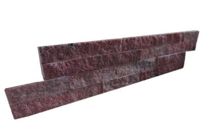 Red Sparkle Stone Panel Quartz Stone Panel Discount Stones