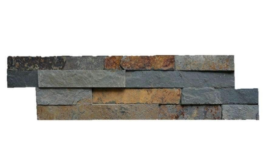 Multicolor Slate - Stone Panel cheap stone veneer clearance - Discount Stones wholesale stone veneer, cheap brick veneer, cultured stone for sale
